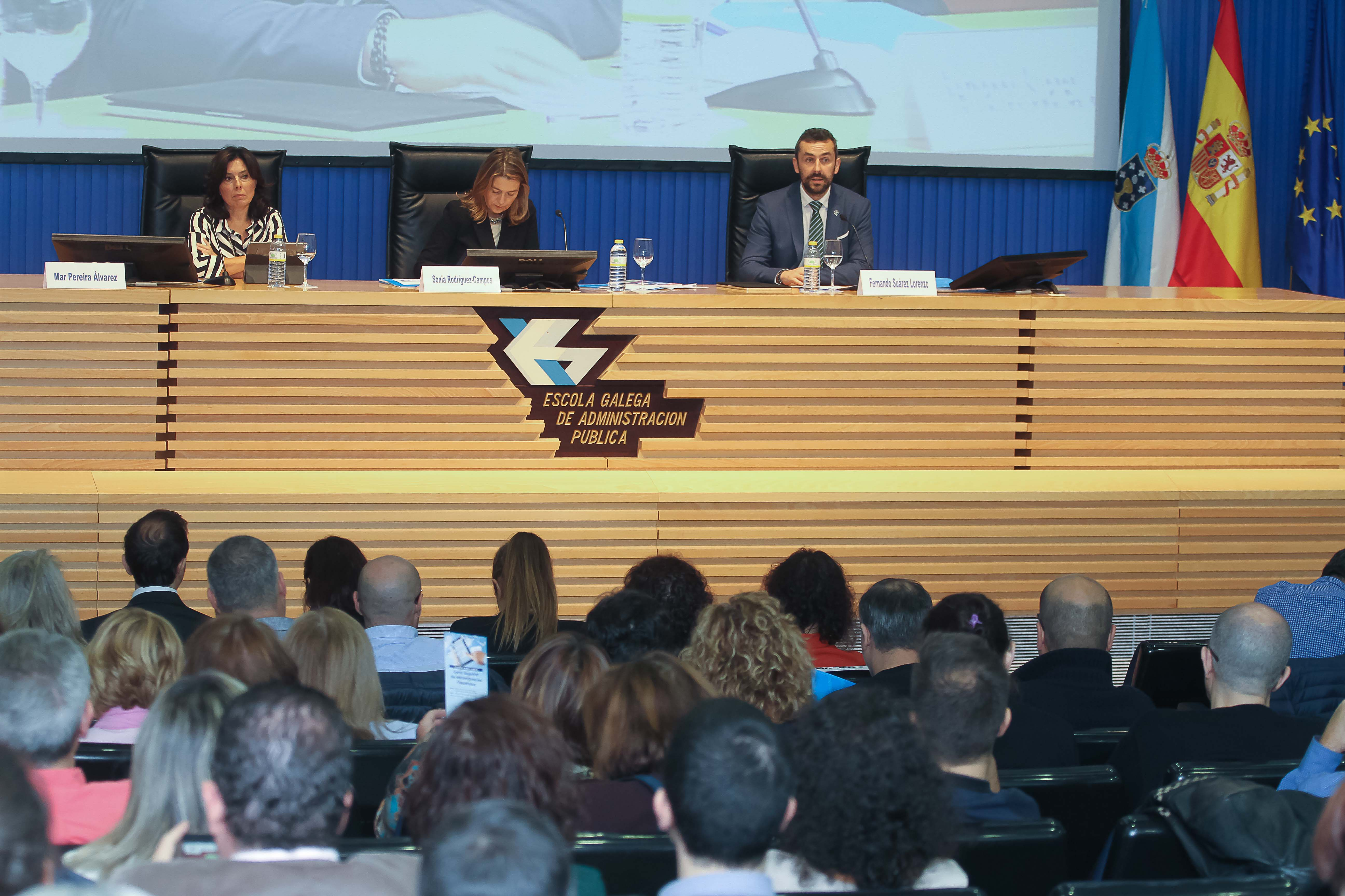 Inauguración do Curso Superior de Administración Electrónica
