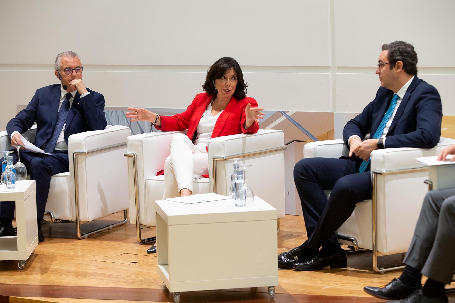 Mar Pereira no evento Galicia TIC